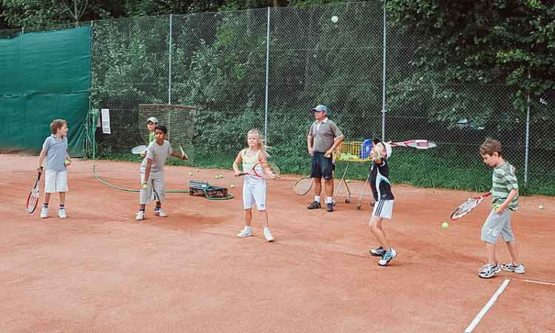 Tennisschule Sommer in Interlaken